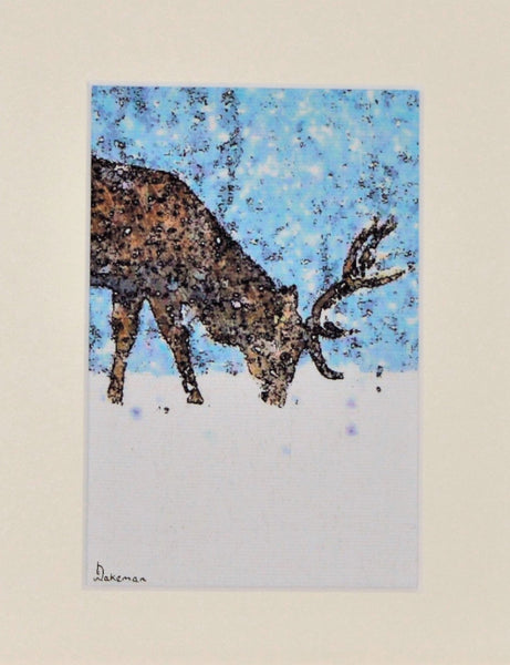 Reindeer Blue - Original
