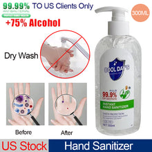 Load image into Gallery viewer, Hand Sanitizer 300ML Free Wash Hands Anti-baterial Hand Gel Disposable Rinse Free Wash Hands for Adults to US Clients Only