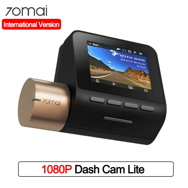 International Version 70mai Dash Cam Lite Wifi 1080P 24H Parking Monitor Car DVR No GPS Night Vision 70mai Lite Car DVR
