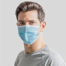Load image into Gallery viewer, 50PCS Disposable Face Mask 3ply Protective Mask Dust-proof Breathable Face Mask Earloop Mask