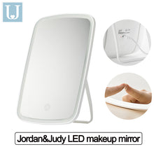 Load image into Gallery viewer, Youpin Jordan Judy LED Makeup Mirror Intelligent Portable Desktop Led Light Touch Control  Folding Light Mirror  Make Up Tool for Dormitory Bathroom Bedroom