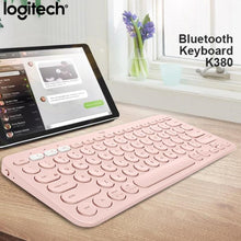 Load image into Gallery viewer, Logitech K380 Multi-Device Bluetooth Wireless Keyboard Line Friends PC Laptop Tablet Phone Keyboard for Windows Android iOS from Xiaomi Youpin
