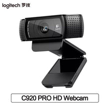 Load image into Gallery viewer, Logitech C920 Pro HD Webcam Smart 1080p Web Cam Video Calling and Recording Web Camera for Computer HD Webcam