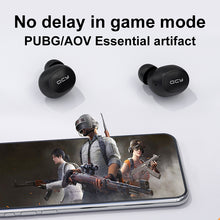 Load image into Gallery viewer, QCY T4 Wireless Earphones Bluetooth V5.0 IPX4 Waterproof 3D Stereo Earbuds in Ear Dual Microphone with APP customization