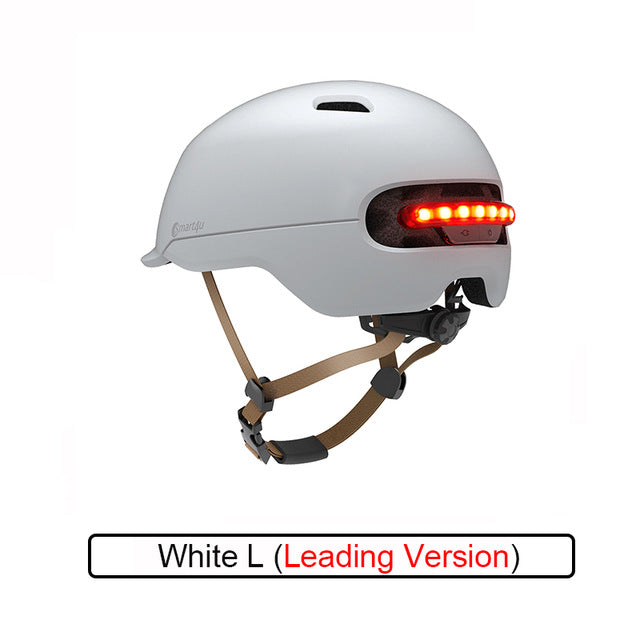 Smart4u Flash Helmets Waterproof Smart Flash Bike Helmet Matte Helmet for Men Women Kids Mountain Road Scooter