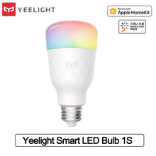 Load image into Gallery viewer, Yeelight Smart LED Bulb 1S 8.5W Colorful Light Bulb Work With Mijia Homekit 800lm Desk Floor Table Lamp