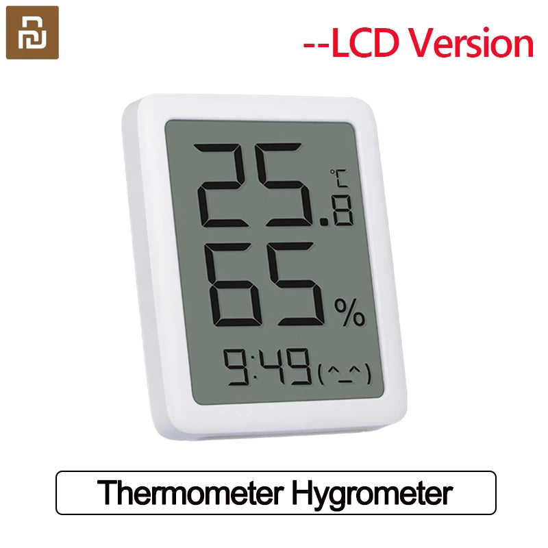 New Youpin MMC Thermometer Hygrometer LCD Screen Digital Display Temperature Humidity Indoor Sensor