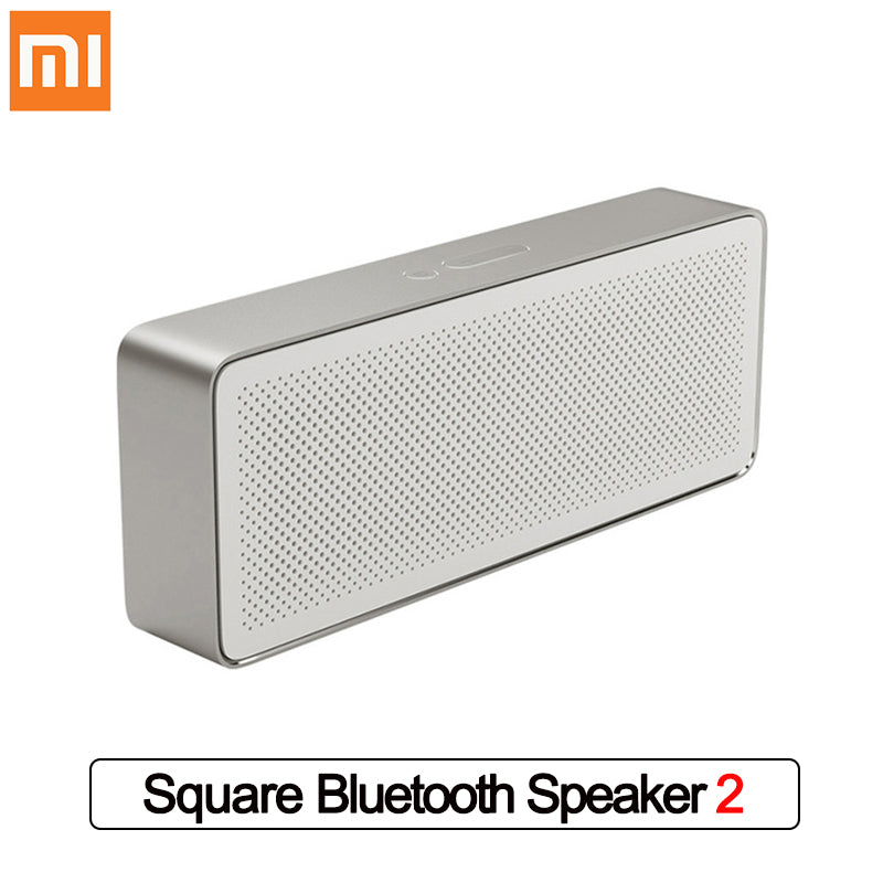 Xiaomi Mi Bluetooth Speaker 2 Square Box Portable Speaker Bluetooth 4.2 High Definition Sound Quality