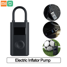 Load image into Gallery viewer, Xiaomi Mijia Inflator Portable Smart Digital Inflator Tire Pressure Sensor Electric Pump for Motorcycle Car Football