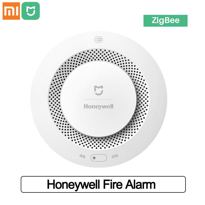 Xiaomi Mijia Honeywell Fire Alarm Smoke Detector Sensor Smart Home Security Remote Control Alarm With Mi Home APP