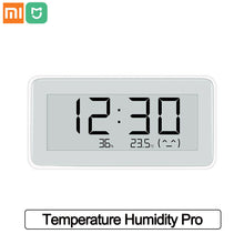 Load image into Gallery viewer, Xiaomi Mijia Smart Temperature Humidity Pro BT 4.0 Wireless Smart Electronic Digital Clock  Indoor Hygrometer ThermometerLCD Temperature Measuring Tools
