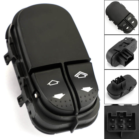 Master DRIVER SIDE Window Switch 6 PIN YS4T-14529AA For Ford Focus MK1 98-05 Generic