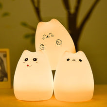 Load image into Gallery viewer, Silicone Cat - Night Lamp