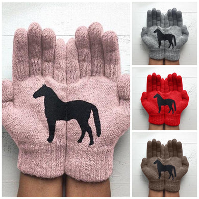 Country Love™️ Horse Print Gloves