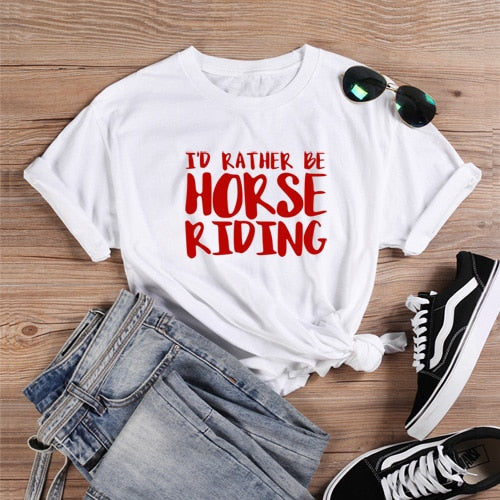 Country Love™️ I'd Rather Be Horse Riding