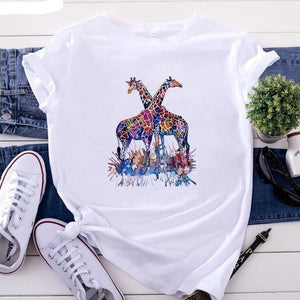 Country Love™️ Horse Print Tee