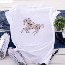 Load image into Gallery viewer, Country Love™️ Horse Print Tee
