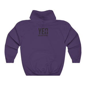 God is Supreme (Purple Box) Unisex Hoodie Hoodie - Yah Equip Apparel