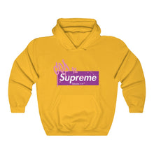 Load image into Gallery viewer, God is Supreme (Purple Box) Unisex Hoodie Hoodie - Yah Equip Apparel