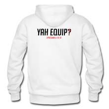 Load image into Gallery viewer, Y.E.A. Unisex White Hoodie Heavy Blend Adult Hoodie | Gildan G18500 - Yah Equip Apparel