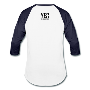 Keep God in the Middle Baseball Tee Unisex Baseball T-Shirt | Tultex 0245TC - Yah Equip Apparel