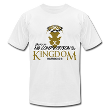 Load image into Gallery viewer, No Competition in the Kingdom Unisex Tee Unisex Jersey T-Shirt | Bella + Canvas 3001 - Yah Equip Apparel