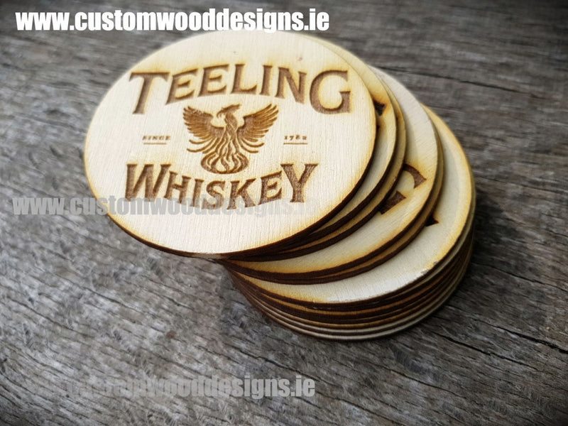 Branded Wooden Coasters