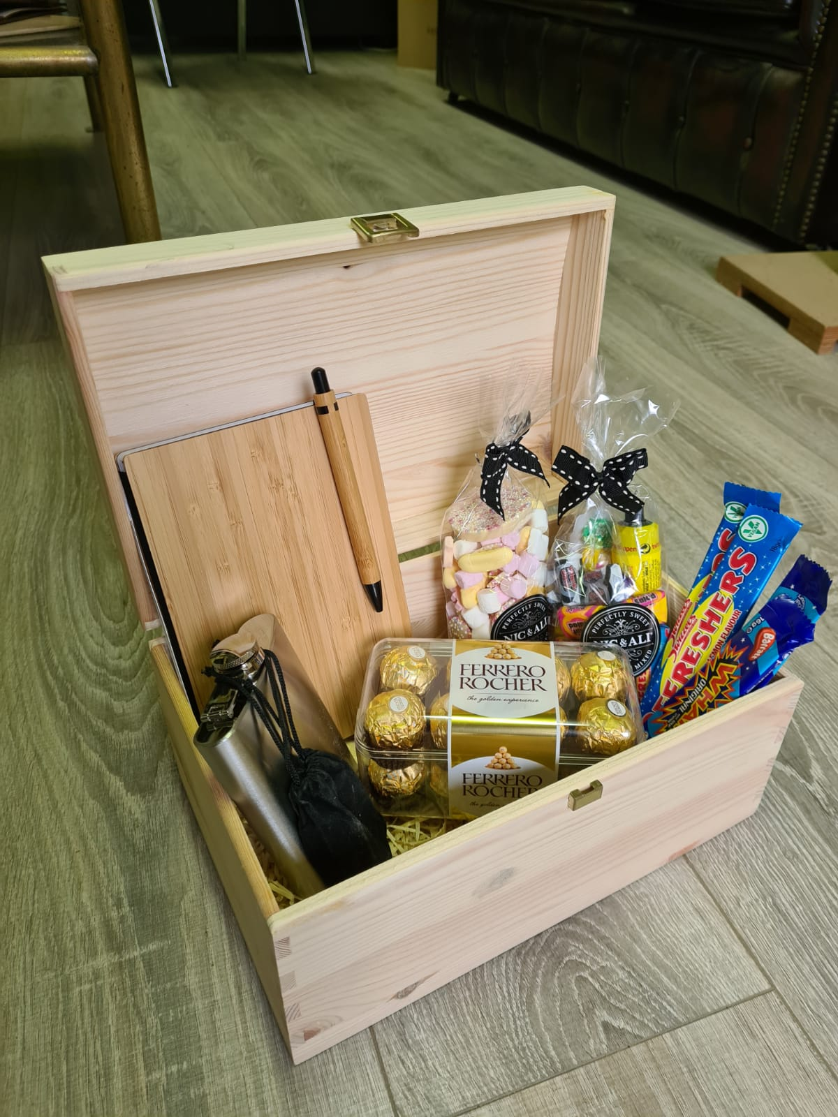 B. Custom Wood Designs Product Boxes Branded Display Boxes Ireland Corporate gifting ideas