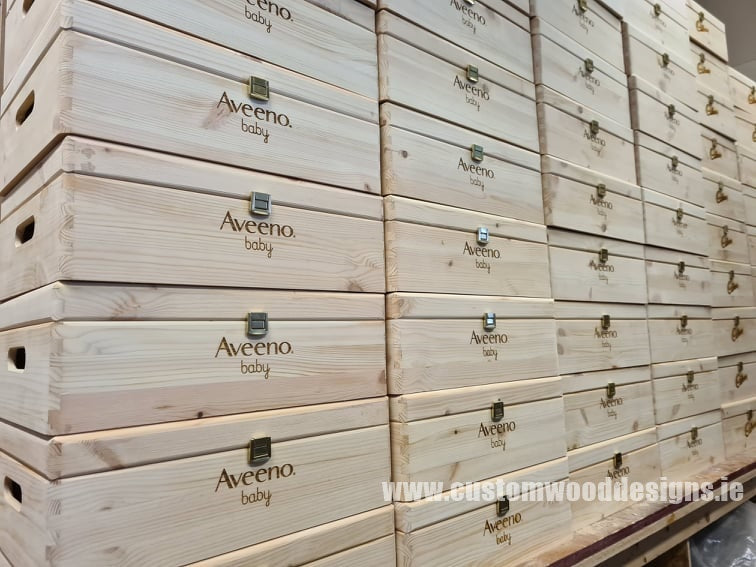 aveeno boxes Boxes crates wholesale supplier  custom wood designs irelnd dublin manufacture wooden boxes crates retail display  crates fro retail boxes for branded activation crates point of sale (43)