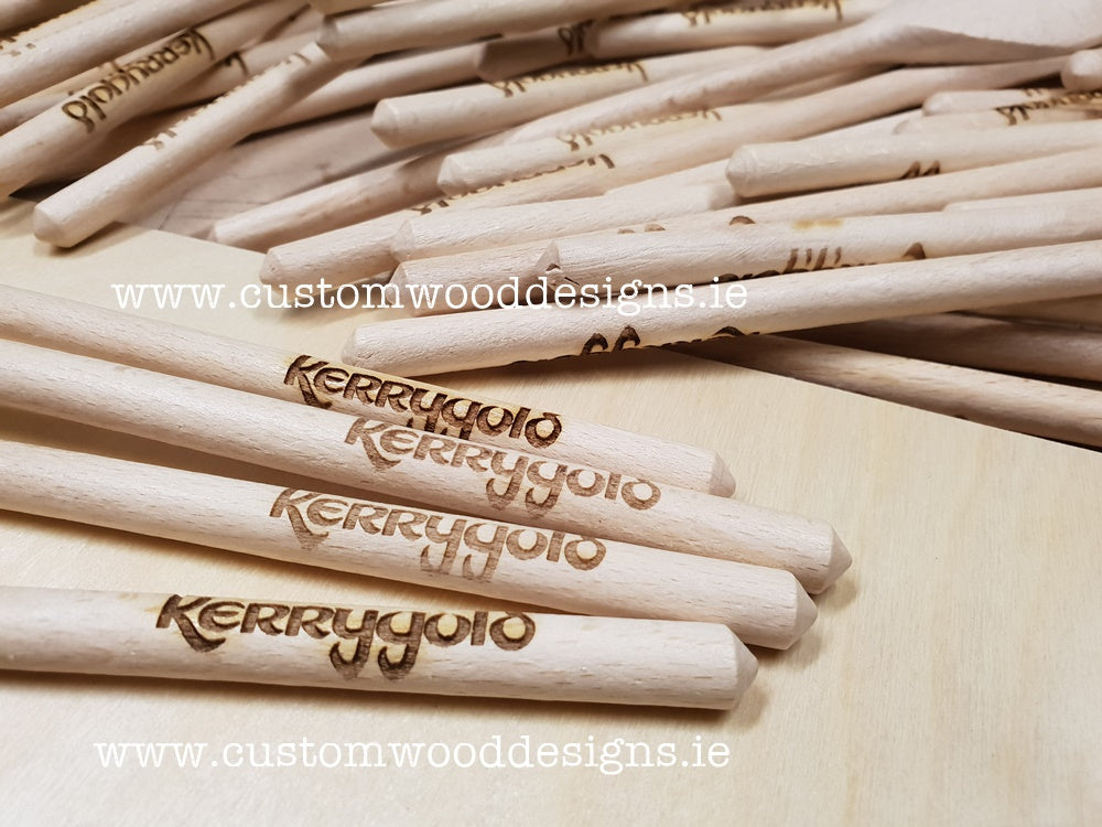 wooden spoons Laser Engraving Laser Cutting Ireland custom wood designs branding and promotional products send worldwide shipping Irish products send worldwide irish gift irish produce manufacturer dublin gary byrne klaudia byrne
