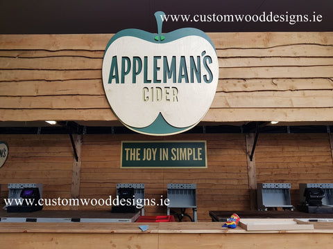 event signs custom wood designs commercial signs