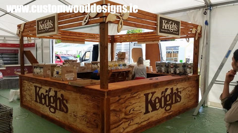 keoghs stand custom wood designs branding design specialists events