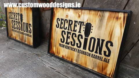 secret sessions custom wood designs branding design specialists events