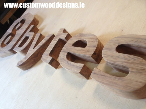 Small Business Signage – Custom Wood Designs