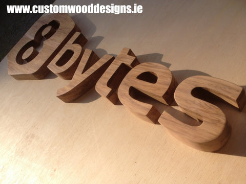 8 bytes cut out sign fot people gather sign  shop retail signs cut out wooden lettering custom wood designs irealnd beautitul irish signs maker dublin ireland cut out solid timber