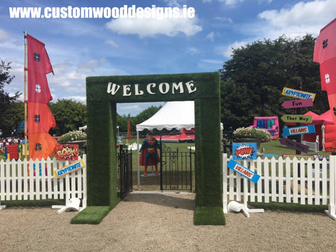 event signs festival signs festival structure grass custom wood designs irealnd woodworking branding specialists display exhibition signs stands custom wood designs ireland branding specialist timber stand manufacturer timber signs manufacture stand modular manufacture custom wood designs irealnd gary byrne klaudia byrne timber signage event props event display point of sale timber point of sale display retail festival promotional event signage wood timber desogns manufacture dublin