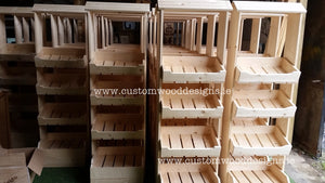 Free Standing Shop Unit - Custom Wood Designs