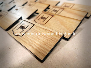 Wooden Badges - Custom Wood Designs