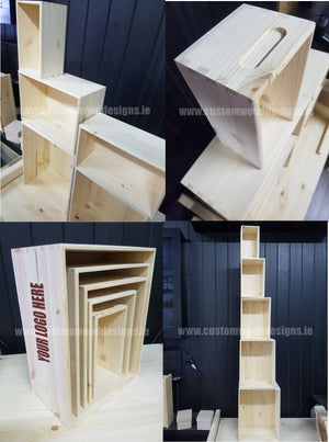 Wooden Boxes - Lightweight