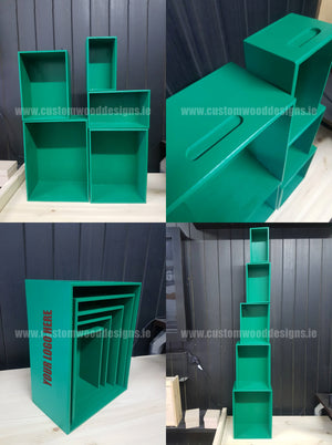 Wooden Boxes - Green