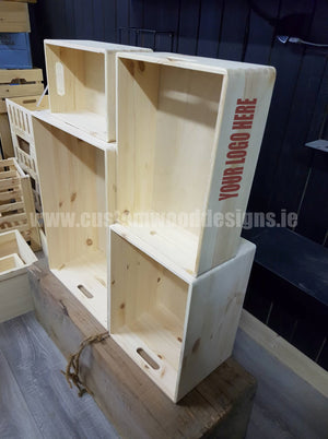 Wooden Crates - Various Sizes
