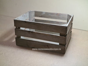 Rough Rustic Crate Medium 42.5 x 37 x 26 cm - Custom Wood Designs