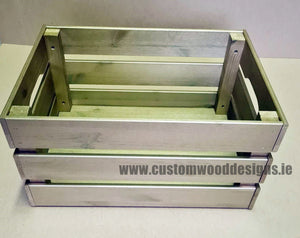Big Crate Gold BCG 46 X 31 X 25cm - Custom Wood Designs