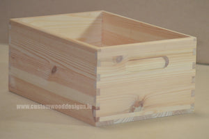 Box SBO3 29 x 21 x 13.5 cm - Custom Wood Designs