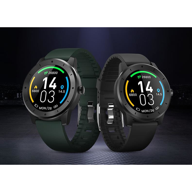 Lucaneo X9 Smart Watch With Silicon Band - Best Fitness Watch 2020