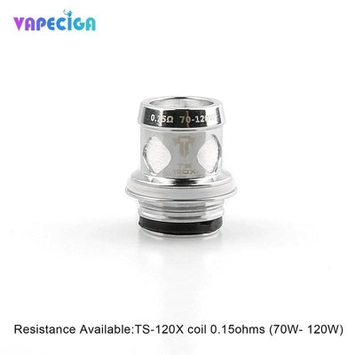 Original TS-120X Coil For Teslacigs Resin Tank 0.15oam