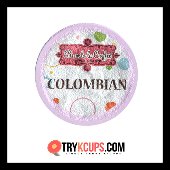 Brew La La Coffee Colombian K-Cup Flavor