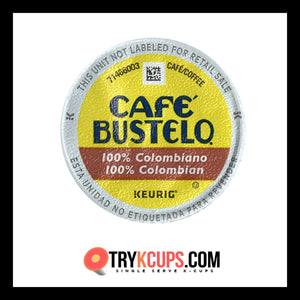 Cafe Bustelo 100% Colombian K-Cup Flavor