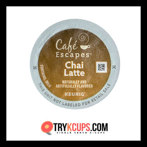 Cafe Escapes • Chai Latte K-Cup Flavor