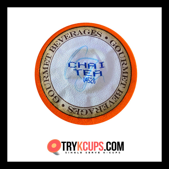 Gourmet Beverages • Chai Tea Latte K-Cup Flavor